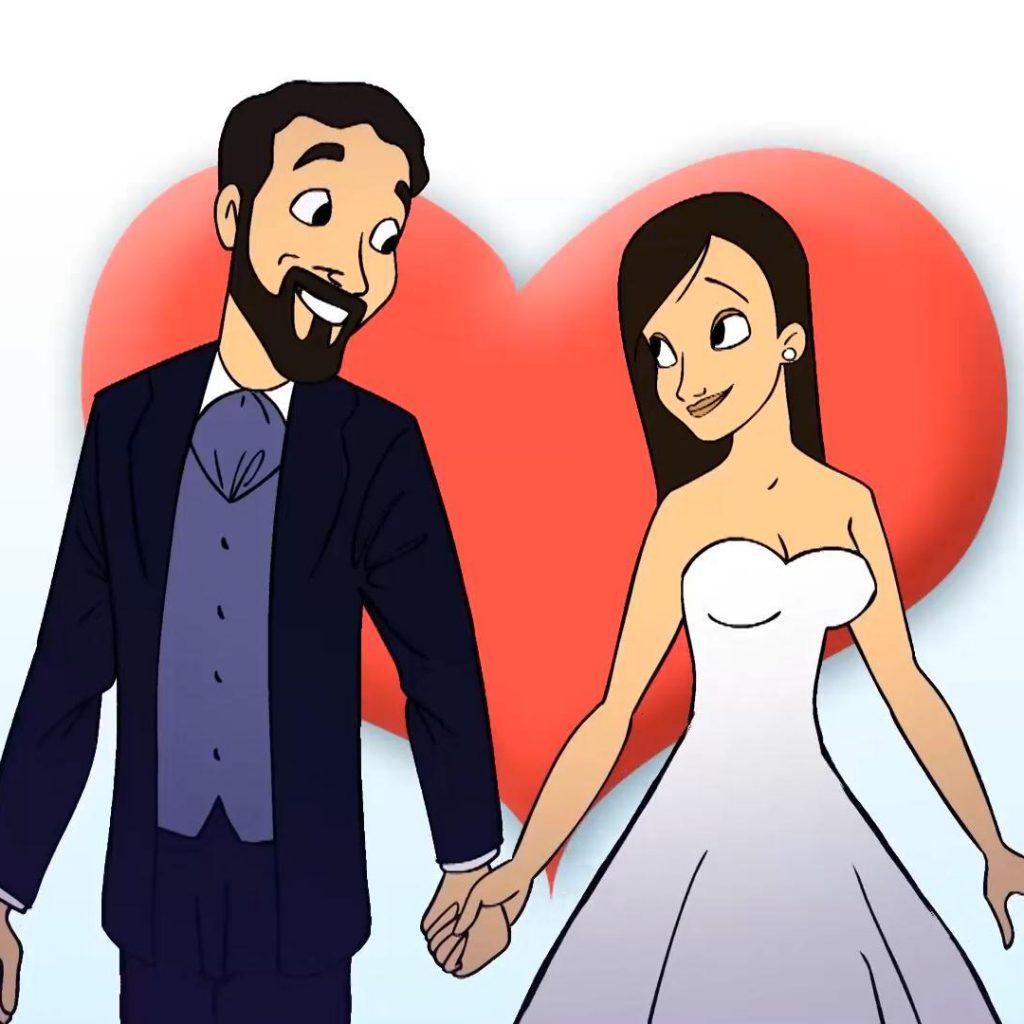 Wedding toons